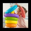 Fisher-Price Óriás színes gyűrűpiramis GJW15
