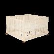 Timba 2 120x120-as emelhető, görgős járóka