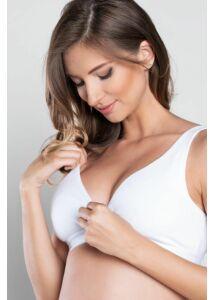 Szoptatós melltartó Italian Fashion LUX White