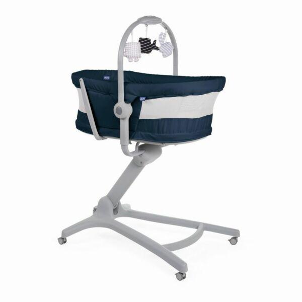 Chicco Baby Hug Air 4in1 bölcső-pihenő-etetőszék-fotel india ink