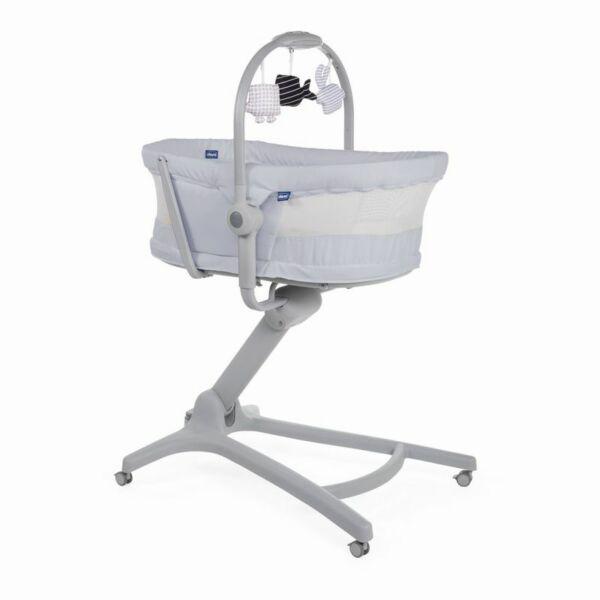 Chicco Baby Hug Air 4in1 bölcső-pihenő-etetőszék-fotel stone