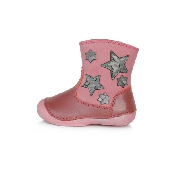 D.D. Step rózsaszín bélelt csizma - 015-186A