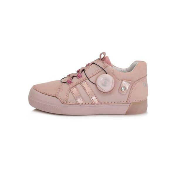 D.D. Step sötét rózsaszín dial to walk bőrcipő - 068-687B