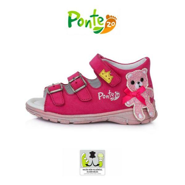 Ponte20 Szupinált macikás rózsaszín szandál - da05-1-875