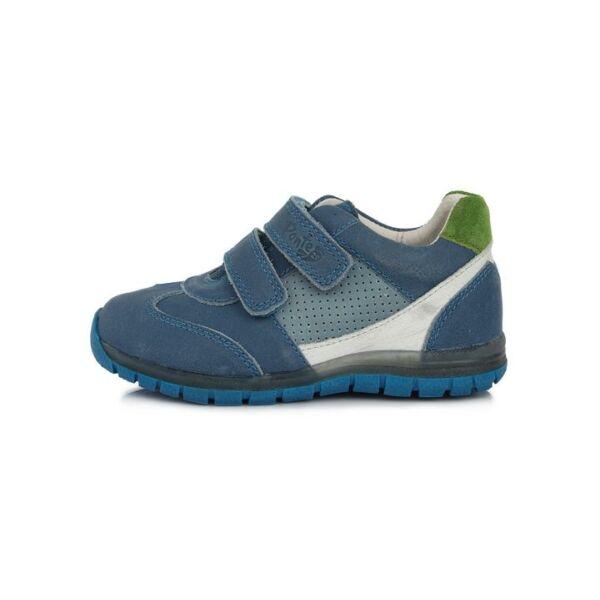 Ponte 20 Szupinált bőrcipő zöld sarokrésszel - DA07-1-717