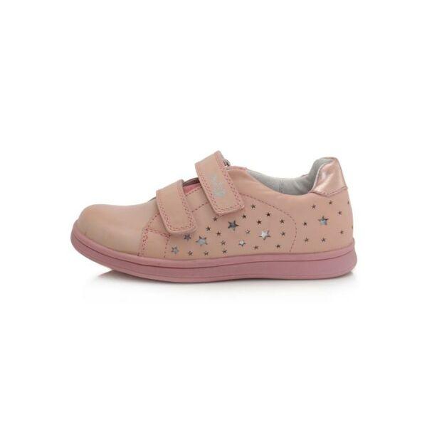 Ponte 20 Szupinált rózsaszín csillagos bőrcipő - DA06-1-677A