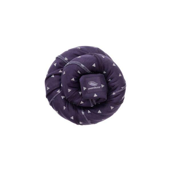 Manduca Sling rugalmas babahordozó kendő - Limitált minta, Purple Darts