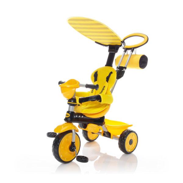 Zopa tricikli ZooGo tolókarral B-T7811 --Bee