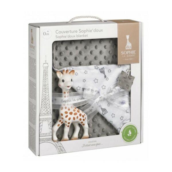 Sophie zsiráf - prémium minőségű takaróval
