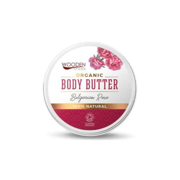 wooden spoon bio testápoló vaj - rózsás kényeztetés új (100 ml)