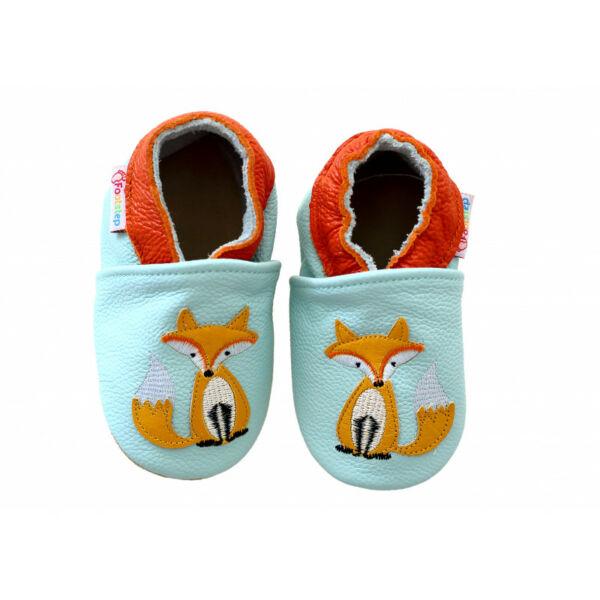 Freycoo - Puhatalpú cipő - Világoskék róka