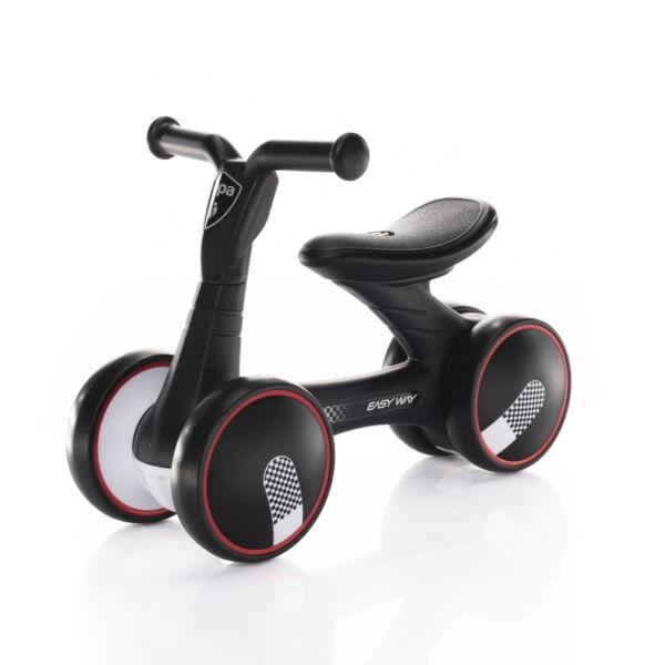 Zopa futóbicikli Easy-Way duplakerekű Racing - fekete