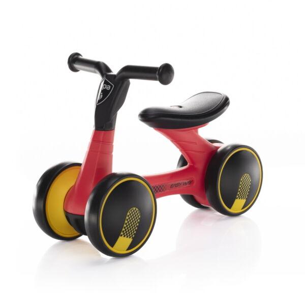 Zopa futóbicikli Easy-Way duplakerekű Sport - piros