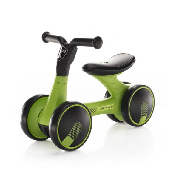 Zopa futóbicikli Easy-Way duplakerekű Sport - zöld