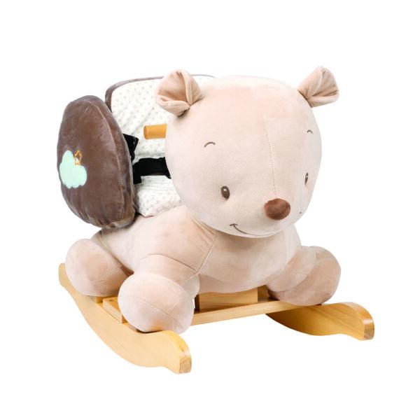 Nattou hintázó állatka plüss Mia and Basile - Basile, a medve