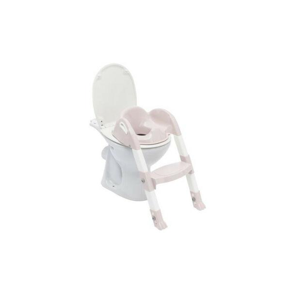 Thermobaby lépcsős wc-szűkítő Kiddyloo - Rózsaszín